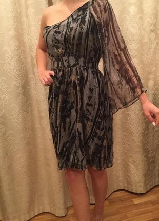 Платье 100% шелк( неношенное)