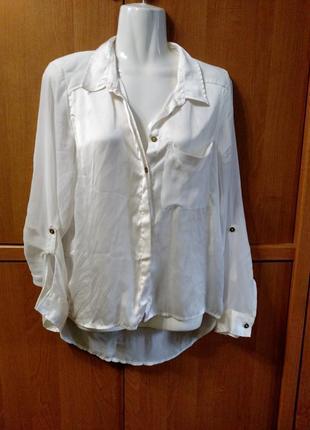 Блуза италия тоненький шелковисиый полиэстер