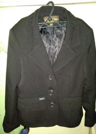 Пиджак сvetkov на рост 128 см,отличного качества с перфорацией