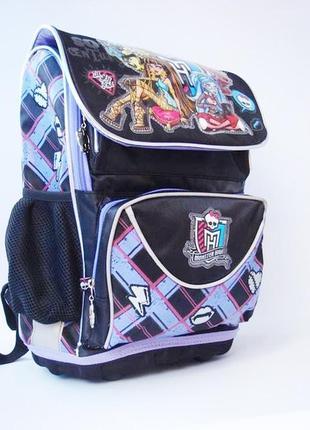 Школьный, каркасный, ортопедический рюкзак kite monster high
