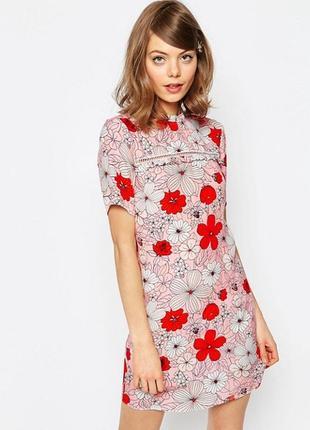 Ліквідація товару до 10 грудня 2018 !!!нежное платье в цветы asos