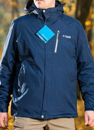 Всесезонная куртка columbia titanium 3 в 1 с флисовой подстежкой