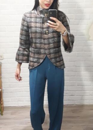 Тренд!!! стильный пиджак в клетку