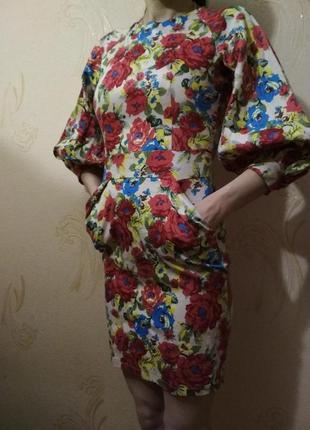 Платье в украинском стиле