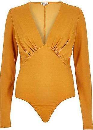 Шикарный комбидресс боди блуза.