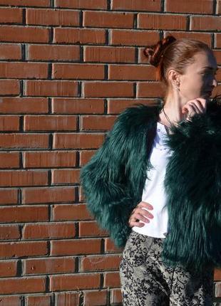 Шуба, куртка лама
