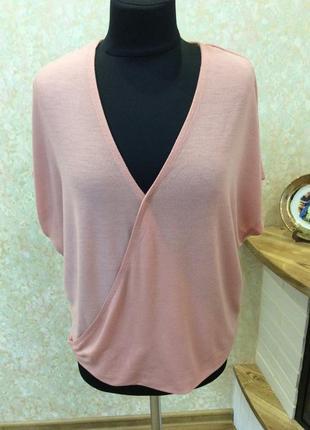 Блуза тонкий трикотаж