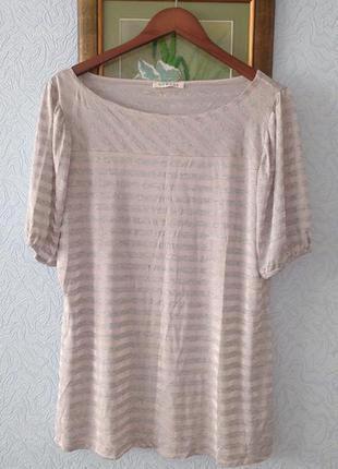Мягкая блуза вискоза - полиэстер