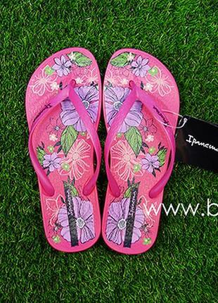 Женские вьетнамки ipanema anat temas 82281 (розовый)