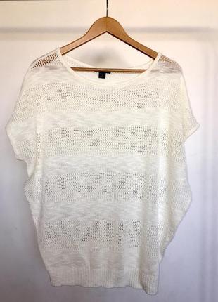 Легкая широкая футболка amisu