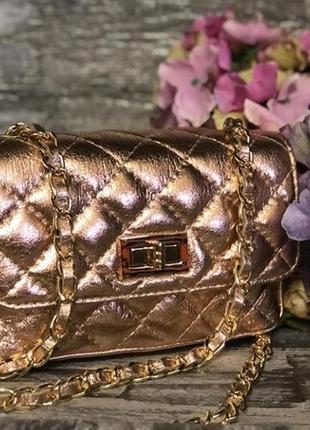 Кожаная сумочка (италия, натуральная кожа)