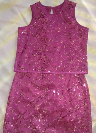 Модный нарядный костюмчик marks & spencer