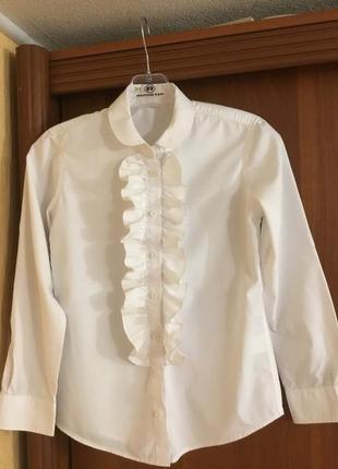 94f6b0ca005 Блузки рубашки школьные для девочки