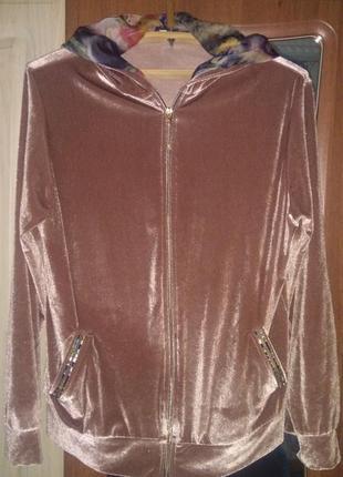 Шикарный велюровый костюм