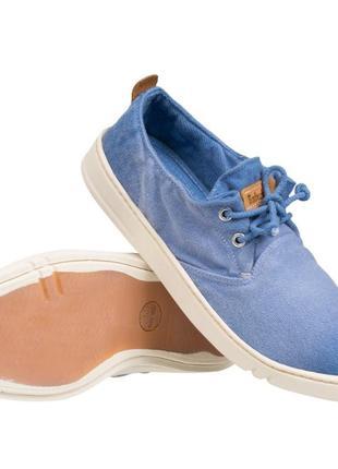 Оригинал кроссовки сникерсы голубые timberland earthkeepers handcraf размер 41,5