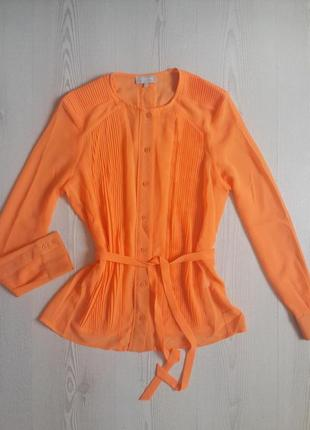 Яркая блуза! блуза с длинным рукавом!