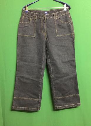 Демисезонные укороченные джинсы cecil