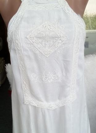 Сарафан  с вышивкой платье с вышивкой