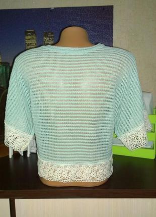 Ажурная блуза топ кофточка atmosphere2 фото