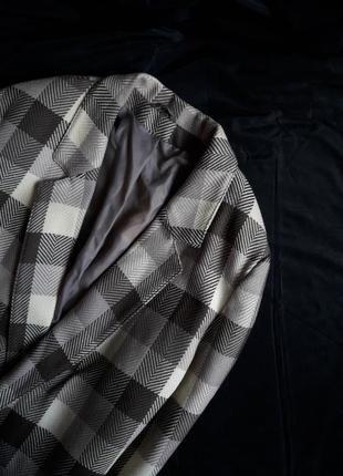 Шерстяное пальто-бойфренд