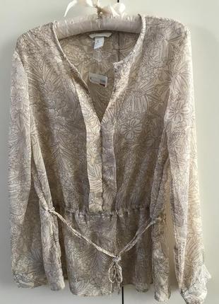 Легкая блузка h&m, p. 36/s