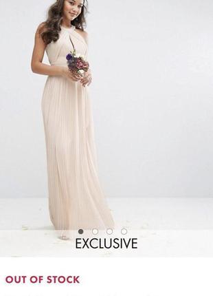 Нежное вечернее платье asos