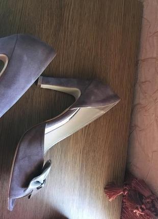 Красивые натуральные турецкие туфли