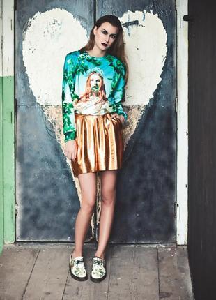 Эксклюзивные дизайнерские шорты бермуды с карманами settimo vii giorno италия цвет серебра