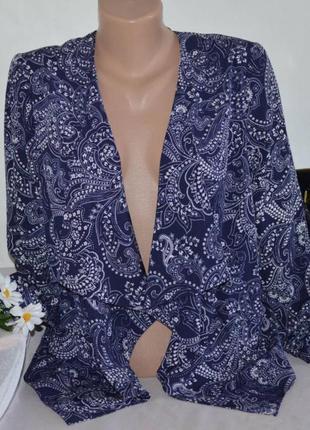 Брендовый кардиган накидка с карманами new look вьетнам цветы