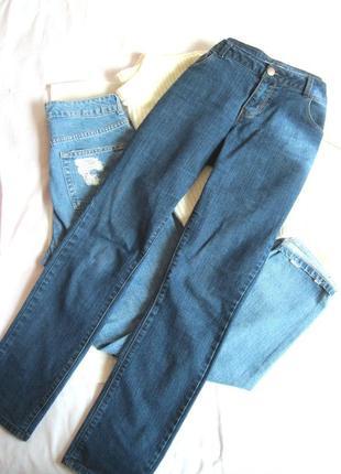 Темно-синие прямые джинсы dorothy perkins