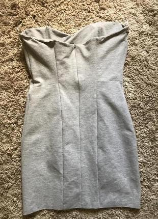 Кокиле серое платье