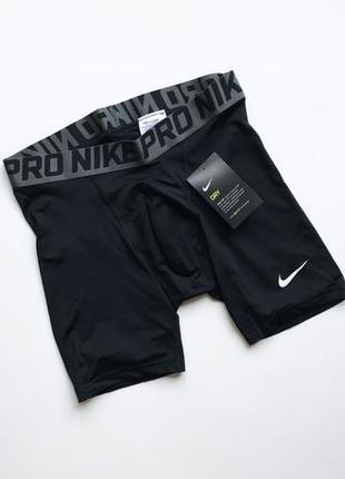 fe08c817 Компрессионные шорты nike pro original мужские беговые термо м чёрные  спортивные новые