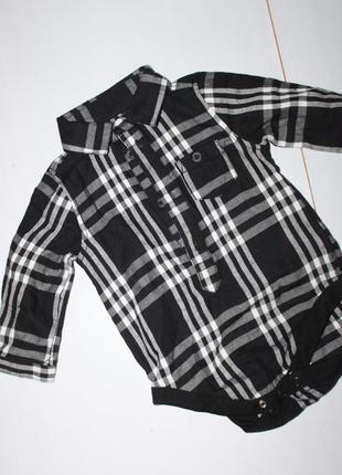 Рубашка-боди на 3-6 месяца3