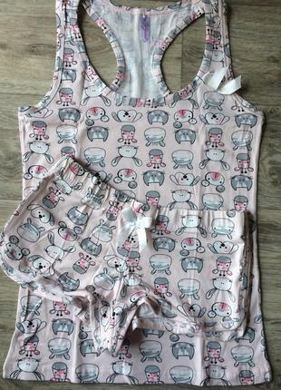 Пижама, комплект для сна, домашний комплект 💎разные расцветки