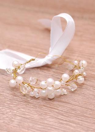 Нежный браслет браслетик для невесты