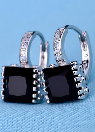 Элегантные серьги с кристаллами летняя распродажа!