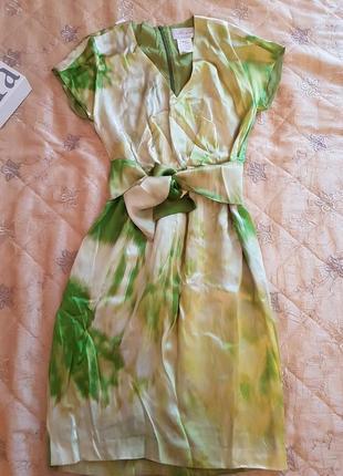 Платье max mara шелк