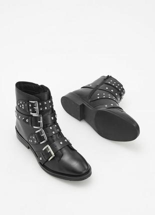 Ботинки из натуральной кожи 36-41