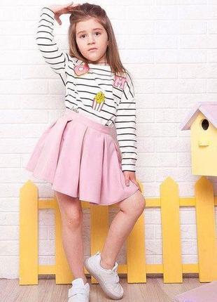 Новая нежно-розовоая юбочка в складку для принцесс, разные размеры и цвета.