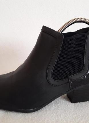 Оригинальные деми ботинки челси фирмы graceland ( германия) р. 39 стелька 25,5 см
