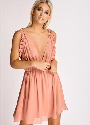 Распродажа!!!новое шифоновое платье