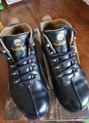Кожаные женские ботинки timberland