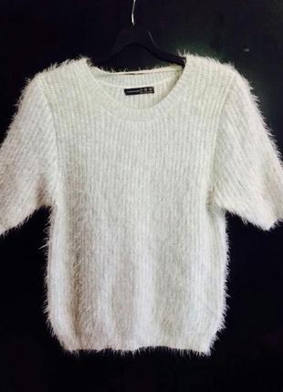 Травка,свитер с коротким рукавом