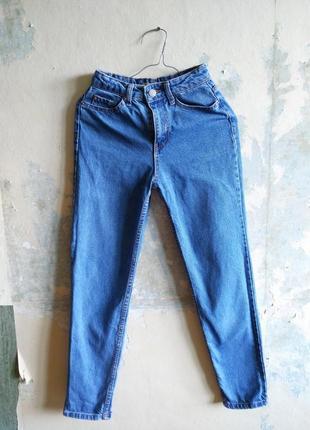 Идеальные винтажные мом джинс с высокой талией