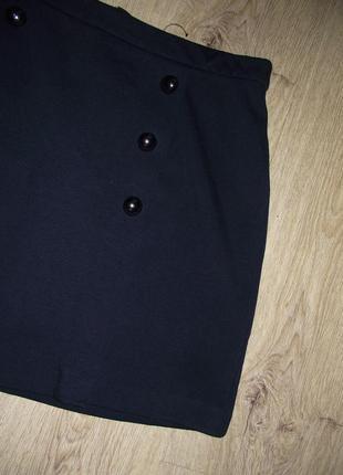 Черная юбка new look m-l