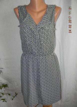 Распродажа!!!платье с принтом oasis