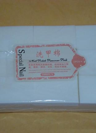 Набор безворсовых салфеток 1000 шт