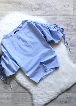 Рубашка с обьемными рукавами