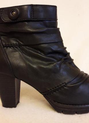 Стилтные ботинки фирмы carina ( италия) р. 38 стелька 25 см