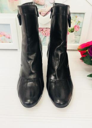 Clarks кожаные ботинки демисезонные
